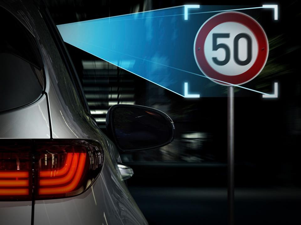 SLIF (Speed Limit Information Function) + Camera & Digital Map